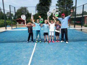 Padel Kids mit Malte Daum