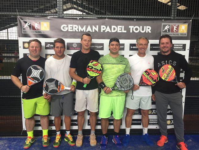 German Padel Tour Padel Halle Rummenigge