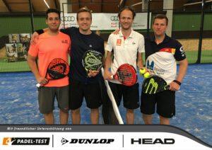 Samuelsen, Böhnke, Bruijsten, Beer - Padel Tennis