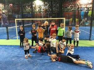 Padel Tennis Kinder