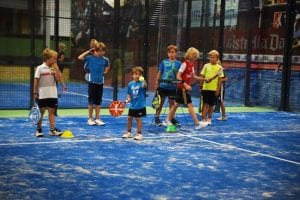 Kinder Padel Tennis