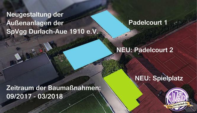 Padel Plätze Durlach Aue