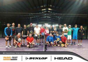 Gruppenfoto Padel Tennis Essen