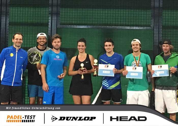 Padel Tennis Essen - Siegerehrung