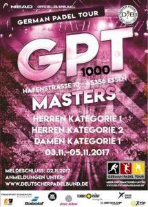 German Padel Tour Masters Essen