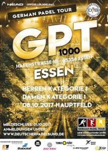 German Padel Tour in Essen