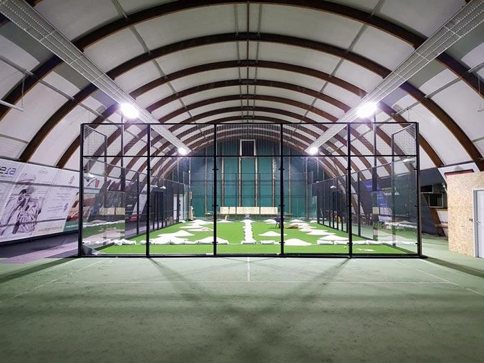 Padel Ettlingen Padelplatz Indoor