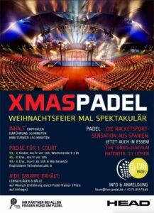 XMAS Padel Weihnachtsfeier TVN Essen