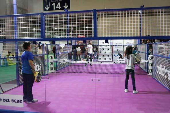 Serena Padel Mini Padel Platz