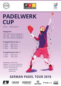 German Padel Tour 2018 Padelwerk Cup Essen