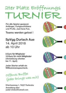 Padel Court Eröffnung Spvgg Karlsruhe