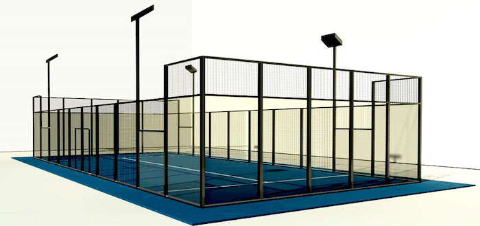 Padel Courtwall Modell Club