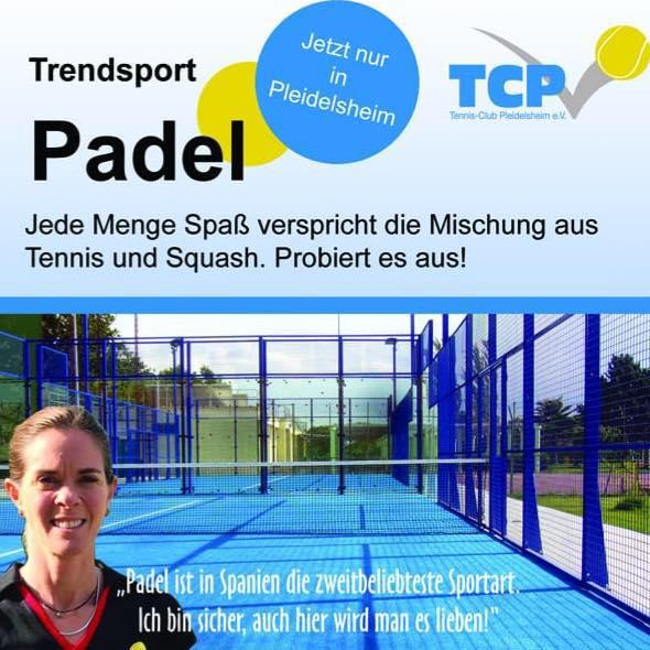 Padel Tennis Pleidelsheim