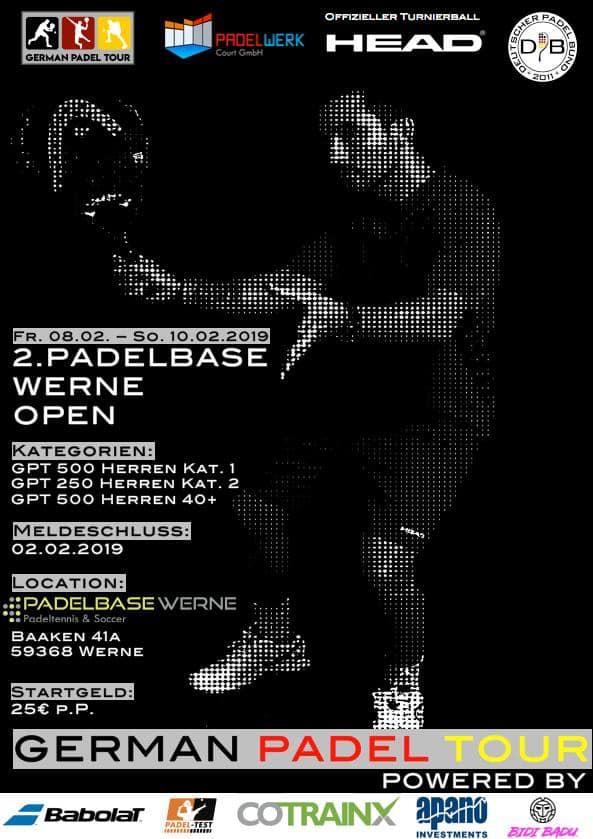 Padelbase Werne Open 2019