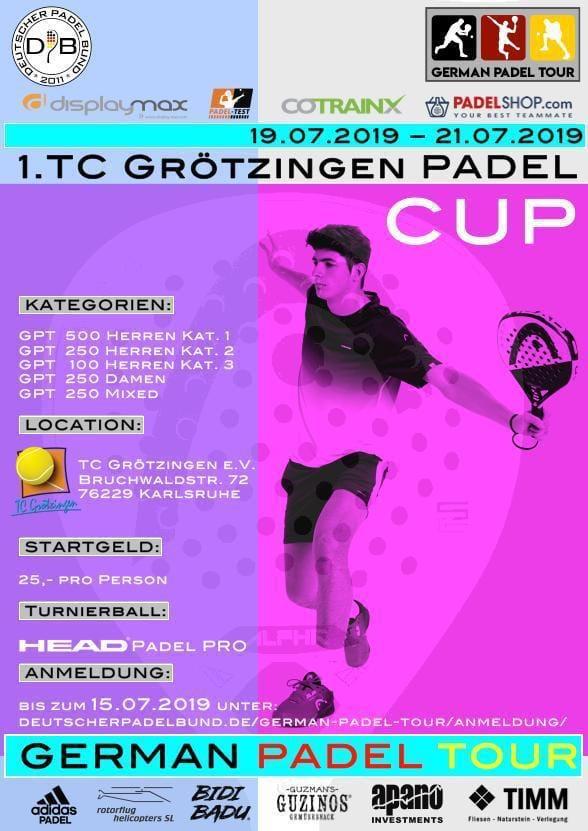 TC Grötzingen Padel Turnier