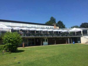 Padel Stuttgarter Kickers Clubhaus