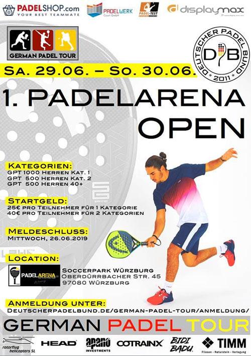 Padelarena Würzburg GPT Padel Turnier