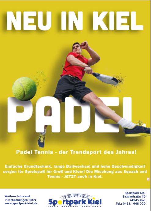 Padel Tennis Kiel Sportpark