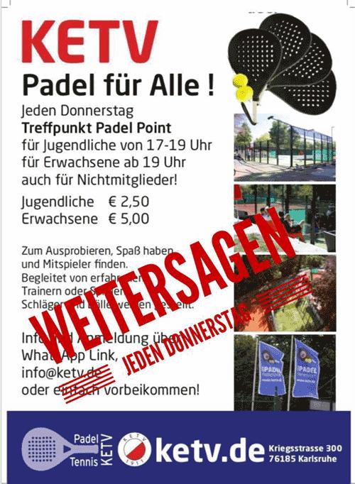 KETV Karlsruhe - Padel Für Alle