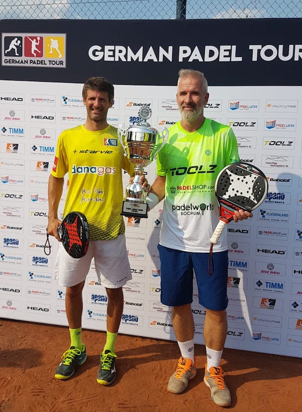 German Padel Tour In Kamen Darek Nowicki