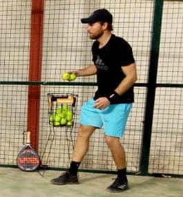 Padeltrainer Mike Rose
