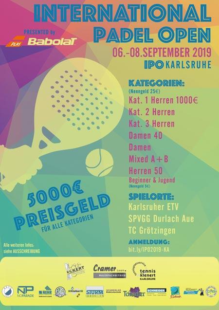 Karlsruhe - International Padel Open