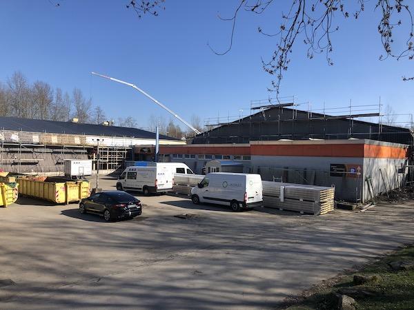 Padel Dortmund Bauarbeiten 2